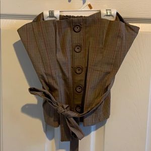 Xoxo suit tube top, size S